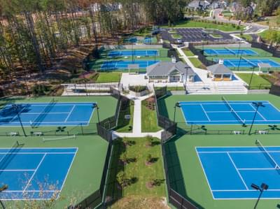 CraftMaster -  Sycamore Woods at Magnolia Green Lighted Tennis Courts - Magnolia Green