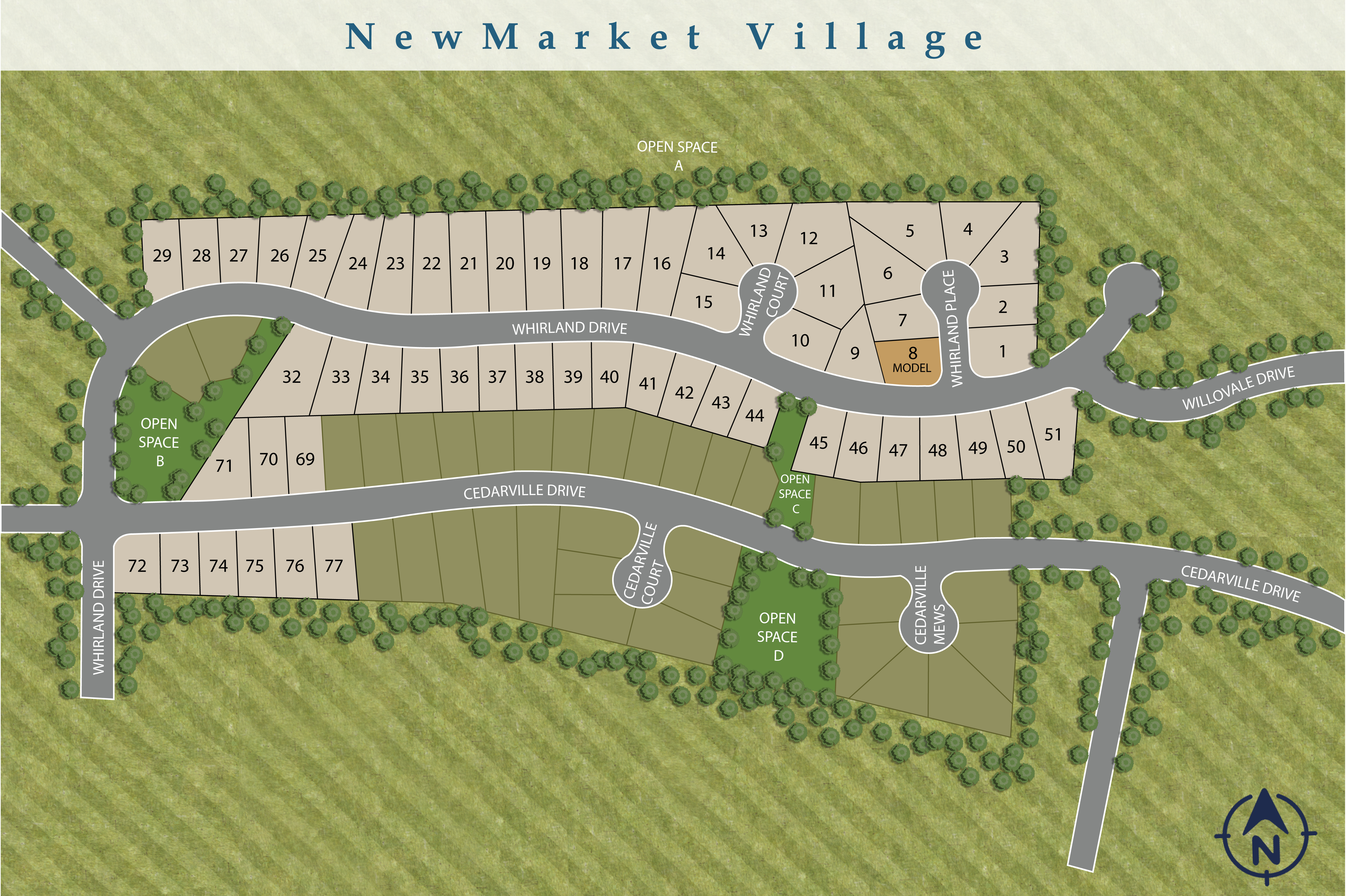 Midlothian, VA NewMarket Village at RounTrey New Homes from Stylecraft Builders